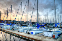 Yachts At Monterrey Wharf by agrofilms