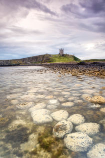 Dunstanburgh Castle Boulders by Chris Frost