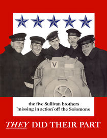 The Sullivan Brothers -- They Did Their Part by warishellstore