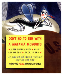 Don't Go To Bed With A Malaria Mosquito von warishellstore