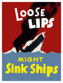 Loose Lips Might Sink Ships by warishellstore