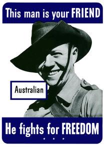 Australian -- This Man Is Your Friend von warishellstore