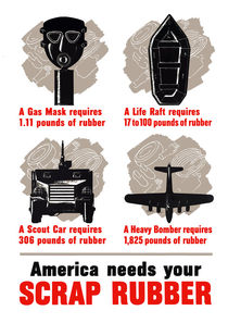 America Needs Your Scrap Rubber von warishellstore