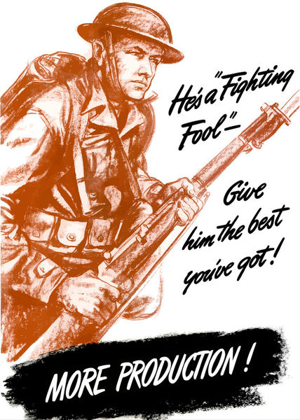 168-65-ww2-fighting-fool-poster