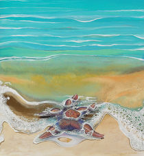 Detail of Starfish by Julie Ann  Stricklin