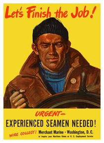 Experienced Seamen Needed -- Merchant Marine by warishellstore