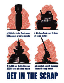 Get In The Scrap -- WW2 by warishellstore