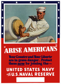 198-96-arise-americans-navy-ww2-poster