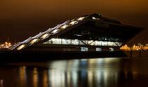Hamburg Dockland bei Nacht - Andreas Jantzen von Andreas Jantzen