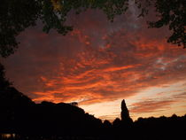 Feuriger Septemberabend by Elke Baschkar