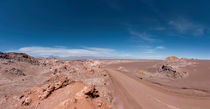 Street into the Atacama Desert von Steffen Klemz