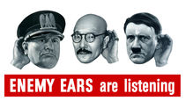 Enemy Ears Are Listening -- WW2 von warishellstore