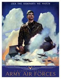 O'Er The Ramparts We Watch -- Army Air Forces von warishellstore