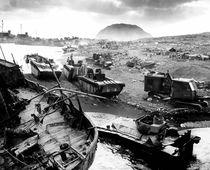 Iwo Jima Beach von warishellstore