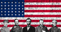 Union Heroes and The American Flag von warishellstore