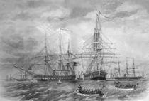 U.S. Naval Fleet During The Civil War by warishellstore