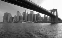 New York City Brooklyn Bridge by Doris Krüger
