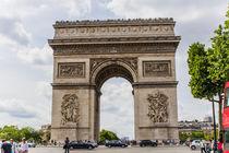 Paris , Arc de triomphe von Mirko Freudenberger