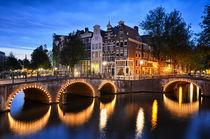 Nightly Amsterdam von Michael Abid