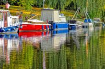 Hausboote und mehr - houseboats and more von mateart