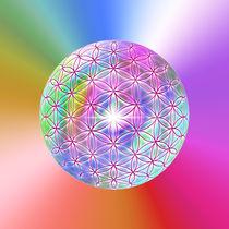 Blume des Lebens - Flower of Metatron - Sphere von Chuya Shi