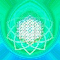 Blume des Lebens - Metatron's Cube - Smaragdtafel  von Chuya Shi