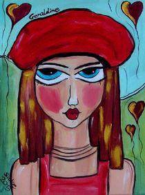 """Geraldine"" by Silke Heil-Sandberg"