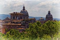 Rooftops of Rome von David Pringle