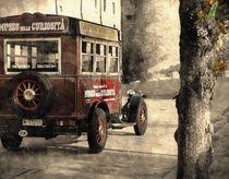 old bus von Wladimir Zarew