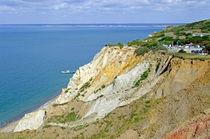 Alum Bay, Coloured Sand Cliffs by Rod Johnson