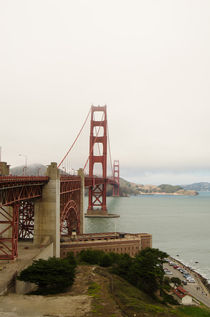 Golden Gate Bridge by Jean Booth
