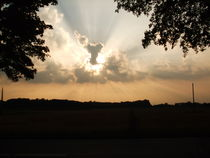 Faszinierende Wolkenbilder 'Engel' von Elke Baschkar