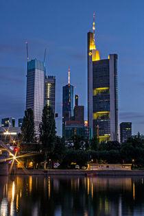- Ffm Skyline am Morgen - by steda-fotografie