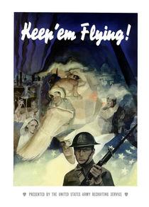Uncle Sam -- Keep 'Em Flying by warishellstore