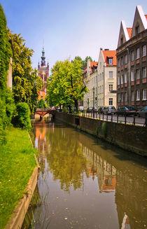 Gdansk Canal Raduni von olgasart