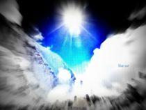 blue sun von artfabry