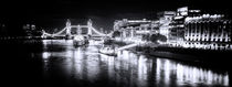 River Thames & Tower Bridge von Wayne Molyneux