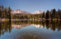 Reflection Lake, Lassen National Park von Chris Frost