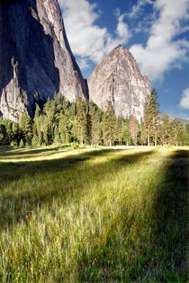 Cathedral Rocks in Yosemite Valley von Chris Frost