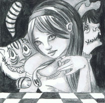 Alice in Zombieland by Lindsay Cheesewright