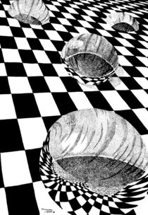 Checkered Past original by Peter Grayson