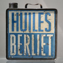 Vintage French Oil Can Berliet by aengus