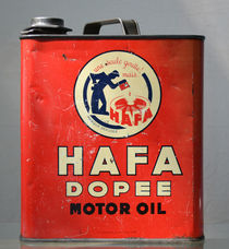 Vintage French Oil Can Hafa Dopee by aengus