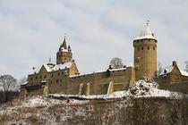 Die Burg im Schnee von Bernhard Kaiser
