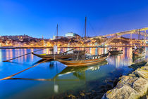 The boats of Porto by Michael Abid
