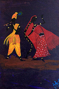 Radha-Krishna von Pratyasha Nithin