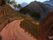 Road to the Hills-2 by Pratyasha Nithin