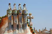 [barcelona] - ... chimney of casa batlló by meleah