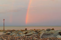 Rainbow out at Sea von Sarah Couzens