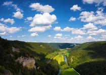 Blick ins Donautal Naturpark Obere Donau by Matthias Hauser